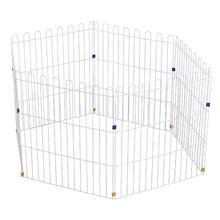 Cerca Metal Multiuso Branco 140x70x60cm