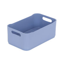 Cesta Organizadora Fit 3,6L 12x18,5x30,5cm Azul Coza