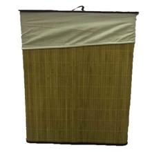 Cesto de Roupas Fibra de Bambú 52X32X63cm Importado