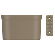 Cesto Organizador c/Barra Loft Up 18x21,5x43cm Cinza Coza