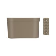Cesto Organizador com Barra Branco 11,5x19x28cm Coza