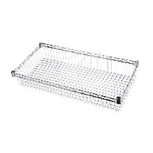 Cesto Organizador Metal Cromado 90x45x15cm Spaceo