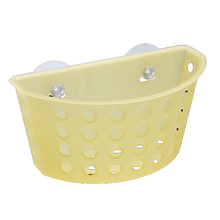 Cesto Organizador Plástico Amarelo 1,17L 10x11,5x20,3cm Cestas Coza