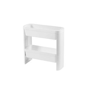 Cesto Organizador Slim 2 Andares Branco 44,8x17,3x43cm Loft Coza