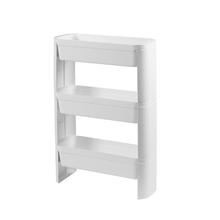 Cesto Organizador Slim 3 Andares Branco 44,8x17,3x69cm Loft Brinox