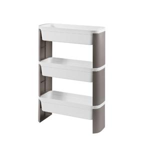 Cesto Organizador Slim 3 Andares Branco 44,8x17,3x69cm Loft Coza