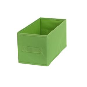 Cesto Organizador Tecido Verde 15x31x15cm Importado