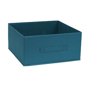 Cesto Organizador TNT Azul 17,5x34,5x43,5cm Spaceo