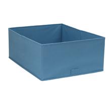 Cesto Organizador TNT Azul 17x26x43,5cm Spaceo