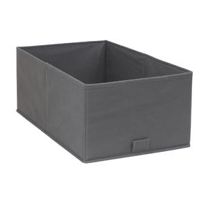 Cesto Organizador TNT Cinza 17,5x34,5x43,5cm Spaceo