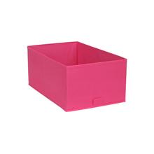 Cesto Organizador TNT Rosa 17,5x34,5x43,5cm Spaceo