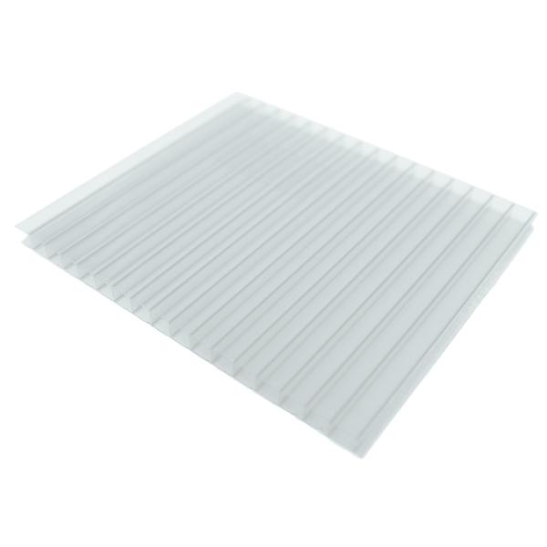 Chapa de pl stico policarbonato 1 05mx3mx40mm home wood - Chapa aluminio leroy merlin ...