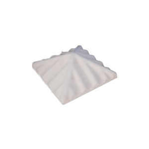 Chapéu de Concreto para Churrasqueira 40x40cm Fortal