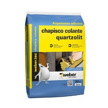Chapisco Colante 20kg Quartzolit