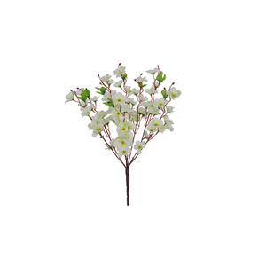 Cherry Blossom Branco Haste 38cm