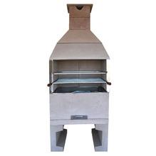 Churrasqueira Concreto Pré-Moldado Master sem Acessórios 90cm 2,2m