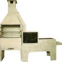 Churrasqueira Conjunto Médio Lisa 0,65cm Begnani