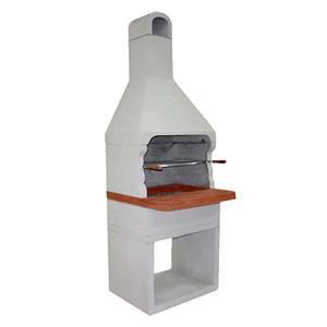 Churrasqueira de Concreto Pré moldado com Revestimento Artmill