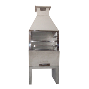 Churrasqueira Pré-Moldada Concreto Refratário Média 65cm Concrex