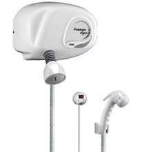 Chuveiro Pressurizado Termoplástico Potenza Digital Multi Temperatura 220 V 7800 W Branco Cardal