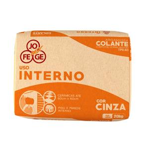 Cimento Cola ACI Cinza 20Kg Jofege Mix