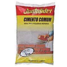 Cimento Comum Cinza Saco 1kg