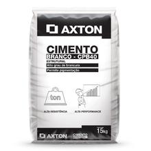 Cimento CPB-40 Branco 15kg Axton