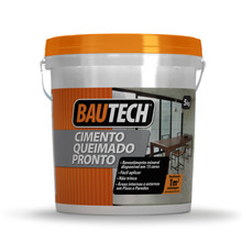 Cimento Queimado Amarelo Ocre 5Kg Bautech