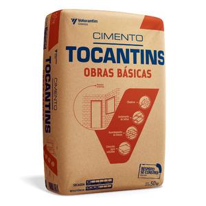 Cimento Tocantins Obras Básicas CP-II-Z-32-RS Saco de 50Kg Votoran
