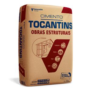Cimento Tocantins Obras Estruturais CP-II-F-40 Saco de 50Kg Votoran