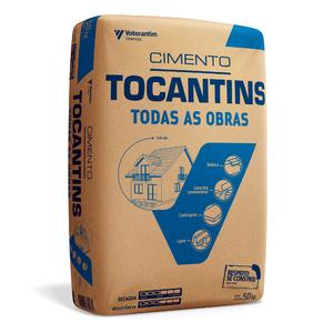 Cimento Tocantins Todas as Obras CP-II-Z-32 Saco de 50Kg Votoran