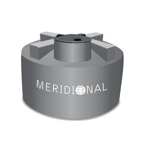 Cisterna de Polietileno 10000L Cinza Meridional