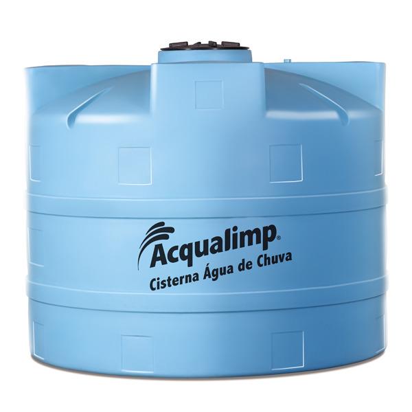 Cisterna de polietileno gua de chuva acqualimp for Cisternas de agua a domicilio