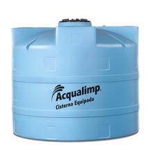 Cisterna de Polietileno Equipada 10000L 110V 2,24x3,22m Acqualimp