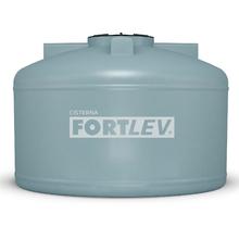 Cisterna de Polietileno Subterrânea Tampa Rosca 5.000L Cinza Fortlev