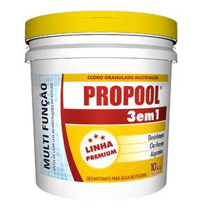 Cloro 3 em 1 10Kg Propool