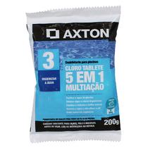 Cloro 5 em 1 Multiação Tablete 200g Axton