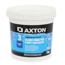 Cloro 5 em 1 Multiação Tablete 5Kg Axton