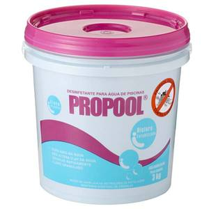 Cloro estabilizado Granulado 3kg Propool Hidroall
