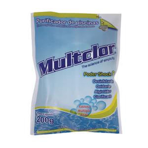 Cloro Orgânico Tabletes Multclor 200gr