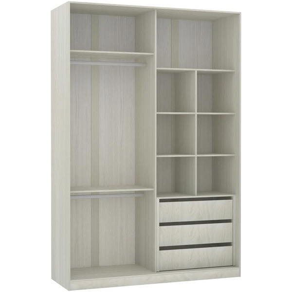 closet 236x159 2x54 5cm prime luciane leroy merlin. Black Bedroom Furniture Sets. Home Design Ideas