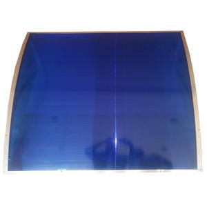Cobertura de Policarbonato Azul 80x120cm Home Wood