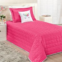 0769aecc5c Cobre Leito Infantil Unicórnio Menina Pink 5 Peças com Almofa