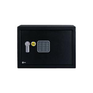 Cofre com Senha Display Digital Aço 20x31x20cm Preto Yale
