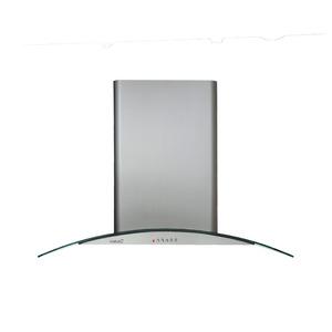 Coifa de Ilha C-Glass Bivolt 90cm CATA