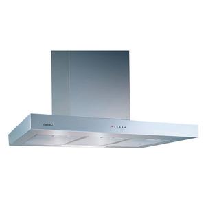 Coifa de parede em aço Inox C2000 S 127V Lamp Halog 2X40W