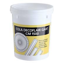 COLA ACRILICA P/FIXACAO MOLDURAS ROSETAS DECORFLAIR CM 1500 N 1,5KG GART
