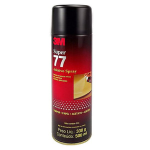 Cola Spray de Isopor 77 330g 3M