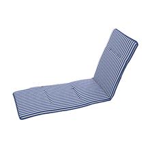 Colchão Espreguiçadeira Poliéster Stripes Azul 190x55cm