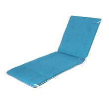Colchão Espreguiçadeira PVC Azul 190x65cm